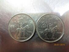 1973 Canada Quarter 25 Cents RCMP Centennial (1873-1973) Circulated