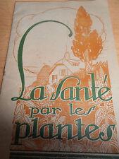 catalogue la santé par les plantes ( ref 8 )