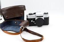 Leitz Leica Leicaflex SL 35mm SLR Film Camera w/ Case - GOOD METER