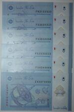(PL) RM 1 EN 9979999 UNC 1 PIECE ONLY 9XX9XX9 NICE FANCY & ALMOST SOLID NUMBER