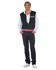 Mens High School Varsity Letterman Jacket Costume Iron On Patches Archie M