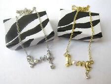 Handmade Love Hearts Alloy Costume Necklaces & Pendants