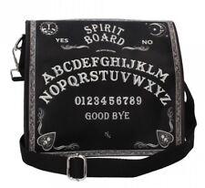 Nemesis Now - Spirit Board Embossed Black Shoulder Bag, Gothic, Unisex XMAS GIFT