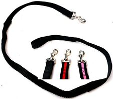 Dog lead  red, black or pink WALK/TRAINING BUNGEE PULL ABSORBING extending leash