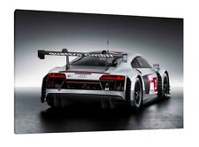 Audi R8 LMS - 30x20 Inch Canvas - Framed Picture Print Art