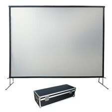"""200"""" Fast Fold Projection Screen, Front & Rear, 16:9,Fixed/Framed"""
