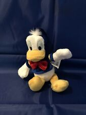 "Disney Donald Duck Plush 8"" Tall with Tags Disney Store"
