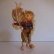 Figurine personnage paysan épouvantail fait main art déco design PN France N2945