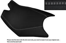 DESIGN 3 GRIP VINYL WHITE DS ST CUSTOM FITS KTM RC8 FRONT RIDER SEAT COVER