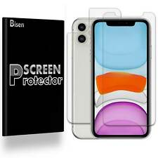 [2-PACK BISEN] Clear FULL BODY Screen Protector Guard Shield Film For iPhone 11