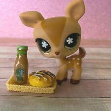 100% AUTHENTIC Littlest Pet Shop LPS #634 Brown Deer w Accessories