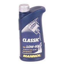 1 Liter MANNOL Classic 10W-40 API SN SM CF Motoröl Renault VW Mercedes Audi Seat