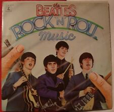 THE BEATLES ROCK N' ROLL MUSIC,  Parlophone 2C 154 06137/8 double 33t