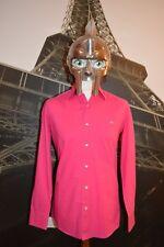 LACOSTE Uomo Camicia a maniche lunghe rosa taglia 39 (media) Devanlay
