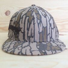 SUPREME x NEW ERA TREE BARK SIDE LOGO SCRIPT FITTED HAT  BOX LOGO 7 1/4 S/S 2008