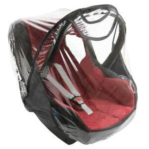 LTG PRO Quality Car Seat Rain Cover for Maxi-Cosi CabrioFix Pebble Clear Plastic