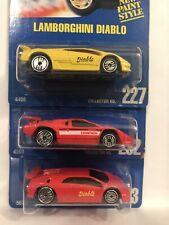 Hot Wheels Lamborghini Countach #232 #227 #123 Lot