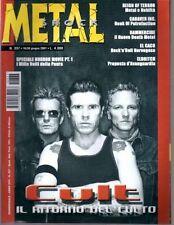 METAL SHOCK N°337/2001 CULT REIGN OF TERROR ELDRITCH SPECIALE HORROR MOVIE PT.1.