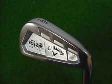 NEW CALLAWAY RAZR X FORGED SINGLE 6 IRON PROJECT X FLIGHTED 5.5 STEEL RAZRX