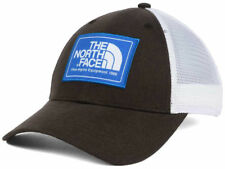The North Face Mudder Brown & White Adjustable Meshback Trucker Style Cap Hat