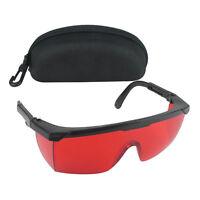BrilleMit Samt Box Portable  1x Profi Laserschutzbrille Schutzbrille schützen