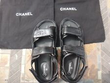 Chanel Dad Sandals , Shoes Brand New . Black including dust bags Size 39