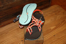 CHACO WOMEN'S SANDALS ZX/2 CLASSIC TUNNEL TANGO SIZE 7