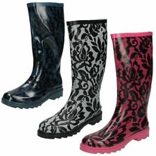 Wellington Boots Spot On Casual Shoes for Women