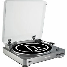 Audio Technica AT-LP60 Fully Automatic Stereo Turntable System-Refurbished
