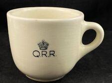 RARE QLD RAIL REFRESHMENT ROOMS WEMBLEY COFFEE TEA CUP QR RAILWAY VINTAGE