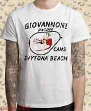GIOVANNONI CAM DAYTONA BEACH CA Hot Rod Rat Dragstrip Hanes T-Shirt Race CAR NEW