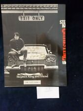 Stephen King Signed Original Autograph INSCRIBED/DATED Christine Cover Only