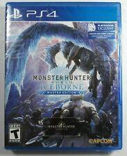 Monster Hunter World: Iceborne Master Edition (Sony PlayStation 4, PS4) New