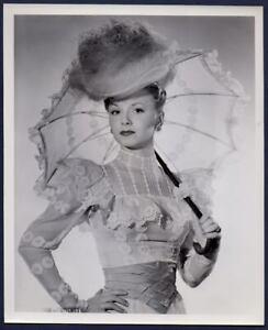 JANET BLAIR Edwardian fashion parasol GALLANT JOURNEY Orig Photo SNIPE & STAMP