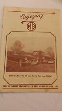 MG Owner's Club Magazine from March 1981