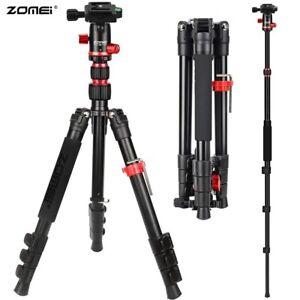 Zomei Aluminium M5 Tripod Monopod For Canon Nikon Sony Smartphone Camera DSLR