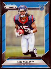 2016 Panini Prizm Will Fuller Blue 154/199 RC #268 Houston Texans Rookie Card