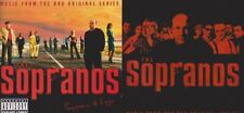 The Sopranos: Original + Peppers & Eggs Lot MUSIC AUDIO CD gangster songs! 3CDs