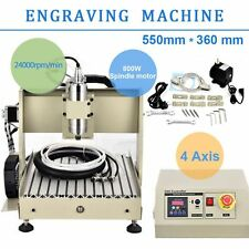 4AXIS CNC Router 3040 Engraver Engraving Drilling Milling Machine Ballscrew 800W
