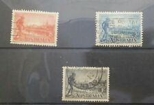 Lot 21 Australian stamps full set 1934 victoria centenary p11.5 sg147a-149a