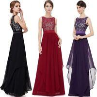 Abendkleid Ballkleid Partykleid Spitze Kleid Schwarz Lila Dunkelrot Blau BC366
