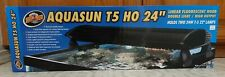 "Zoo Med AquaSun T5-Ho Dual Linear Fluorescent Hood 24"". Free Shipping"