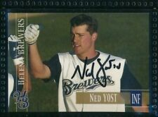 2005 #68 Ned Yost, IV Helena Brewers Baseball Signed Autograph TPD34