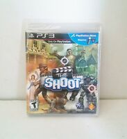 NEW Sealed The Shoot (PlayStation Move) PS3 New Playstation 3