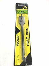 C.K TOOLS 22MM WOOD FLAT DRILL BIT T2942-22
