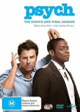PSYCH : COMPLETE FINAL SEASON 8 - DVD - UK Compatible