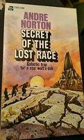 Secret of the Lost Race by Andre Norton Ace Science Fiction paperback