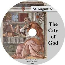 City of God Augustine Christian Audiobook unabridged English Complete 2 Mp3 Cd