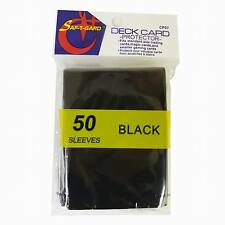 750 Magic MTG Gaming Card Protector Black Sleeves CP07