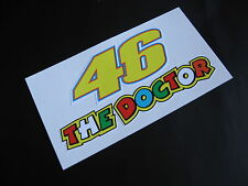 THE DOCTOR 46 Ducati Rossi stickers/decals x2